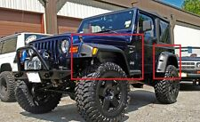 JEEP WRANGLER TJ WHEEL ARCH - FENDER FLARES NEW 22cm / 8,5""