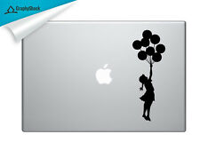 Banksy Girl With Balloons Mac Decal Laptop Sticker Mac for 13 15 17 inch Macbook