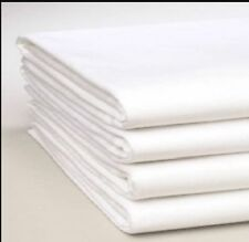 KING SIZE FLAT SHEET, White, Ex Hotel, Top Quality, Professionally cleaned.
