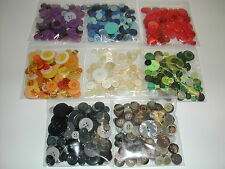 BUTTONS BLUE SEWING CRAFT HUGE HUGE HUGE 100pc BUTTON LOT *FREE Ship