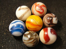 Alley marbles from the Excavation of the old 1932-1936 Pennsbory factory site