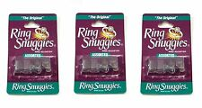 3 X Ring Snuggies - The Original Ring Adjusters - Assorted Sizes 3-Pack