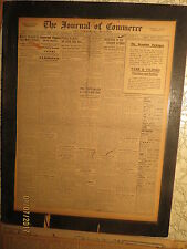 Titanic Ship Newspaper 1912 ARMY INSPECTORS LIFEBOATS + SUIT IN COURT