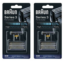 2-Packs 30B Braun Foil Cutter 7000 Series 7564 7570 7630 7640 7516 7520 7526