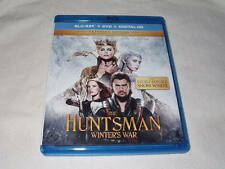 The Huntsman: Winter's War (BLU-RAY, 2016) Charlize Theron Chris Hemsworth