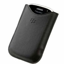 BlackBerry Bold 9000 9700 9780 HDW-16000-001 Leather Case Pouches Pocket Black