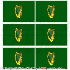 LEINSTER Province Flag IRELAND Irish Mobile Cell Phone Mini Stickers, Decals x6
