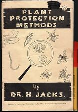 1954 New Zealand PLANT PROTECTION METHODS Royal Institute of Horticulture
