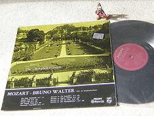 MOZART Im Mirabell-Garten BRUNO WALTER rare GER LP PHILIPS MAROON A 01237 L