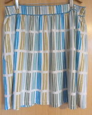 Boden Ladies Skirt Size 18 New Work Jersey Summer Casual Elise £49 BNWT Stripy