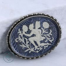 Silver Plated - Mystical Fairy Flowers 9.2g - Brooch BB4579