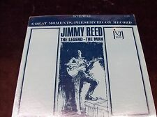 "JIMMY REED ""THE LEGEND - THE MAN"" LP 1990 SEALED PAUL HOWLIN WOLF OTIS SON HOUSE"
