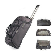 KAPPA ROLLING WHEELED TRAVEL BAG HAND LUGGAGE CABIN CASE TROLLEY SPORTS HOLDALL