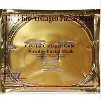 5X Crystal Gold Collagen Facial Face Mask Anti-Aging Moisturizing Skin Care O