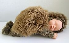"""1998 Anne Geddes Baby Doll Plush Hedgehog Outfit 16"""" Long Large Unimax Toys"""