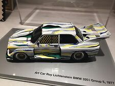 BMW 320i Roy Lichtenstein Diecast Art Car 1:18