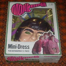 MONKEES  MINI-DRESS  COSTUME  DAVY JONES  1967  BLAND CHARNAS  BOXED  LARGE