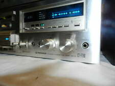 Vintage Pioneer CT-F750 Stereo Cassette Tape Player Tested For Power
