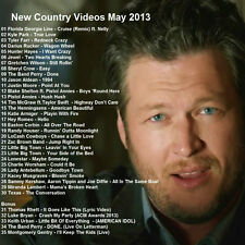 Country Promo DVD, NEW Country Hit Videos May 2013, FRESHEST VIDEOS Only on Ebay