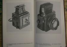 Libro especializado técnica de fotografía, foto histórica, dispositivos cámaras viejas, placas de vidrio, rda 1988