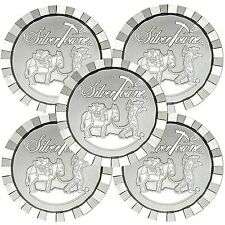 SilverTowne Stackables Trademark Prospector 1oz .999 Silver Round (5pc)