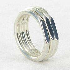 Links of London 5045.2568 Ring 20/20 Classic Sz 6.5 Sterling Silver New $190