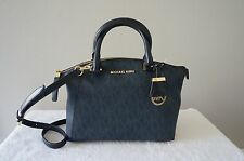 AUTH Michael Kors Purse Riley Signature Monogram Small Satchel Shoulder Bag NEW