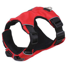 12-20'' Red Reflective No Pull Mesh Padded Dog Vest Harness for S/M Dogs Boxer