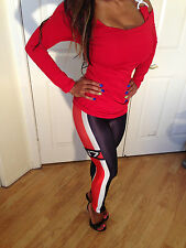 My Fav Sexy Party Clubbing Mass Effect N7 Inspired Print Leggings in Size S/M