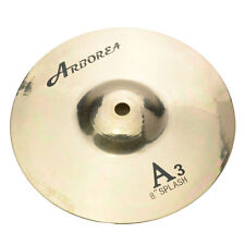 New Professiona 8 Inch Bronze Golden Splash Cymbal for Drum Set