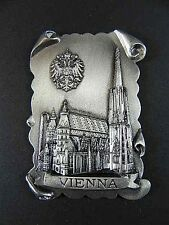 WIEN Stephansdom Magnet Metall Souvenir Österreich Austria,7 cm ,edel,Neu