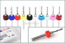 10Pc 1.1 - 2mm HSS Micro Twist Drill Bit Carbide Steel Dremel Rotary Tool PCB