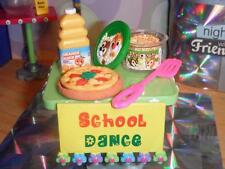 Our Generation Dance Floor Deejay Studio Set Table & Accessories Play Food Lot