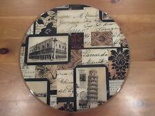 Italy/Italian Sites and Landmarks Lazy Susan Wood by MamaZooka Designs