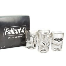 VAULT BOY 101 Fallout 4 SPECIAL Shot Glasses New Rare Set Limited