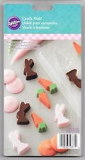 Easter Bunny and Carrot Chocolate Candy Mold from Wilton #1047 NEW