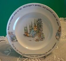 Peter Rabbit Salad Plate Wedgwood