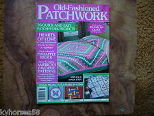 Old-Fashioned Patchwork Magazine Spring 1988