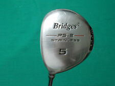LEFT HAND BRIDGES PS-2 FAIRWAY 5 WOOD - R FLEX GRAPHITE SHAFT - VERY GOOD COND!