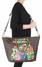 Super MOSCHINO Couture X Jeremy Scott Super Mario TEAM Nintendo DUFFLE BAG XL