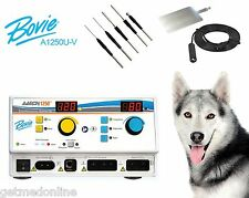 NEW ! Bovie A1250U Electrosurgical Generator with Veterinary Package, A1250U-V
