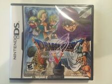 Nintendo DS Dragon Quest V: Hand of the Heavenly Bride Brand New Factory Sealed