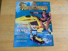 wave runner   # 1     ARCADE   GAME  FLYER