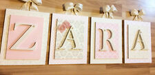 Wooden Nursery Letters, Custom Letters, Custom Wood Letters, Initials, 6x8