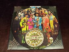 """BEATLES """"SGT. PEPPER'S LONELY HEARTS CLUB BAND"""" LP PICTURE DISC 1967/78 US PRESS"""