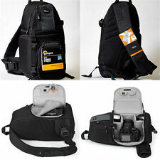 Lowepro 102 AW DSLR Digital Camera Shoulder Bag Weather SlingShot Photo Backpack