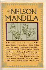 """""""For Nelson Mandela"""" SIGNED by Susan SONTAG Nadine GORDIMER John IRVING + 2 More"""