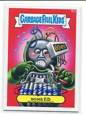 Garbage Pail Kids 2014 Series 2 Auto Card 92a Bomb ED Brent Engstrom Auto