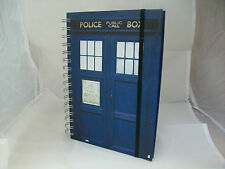 DR Doctor Who a5 Spirale-Bound TARDIS blocco note-Nuovissimo