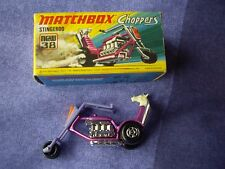 Matchbox Stingeroo chopper model no 38, mint with box